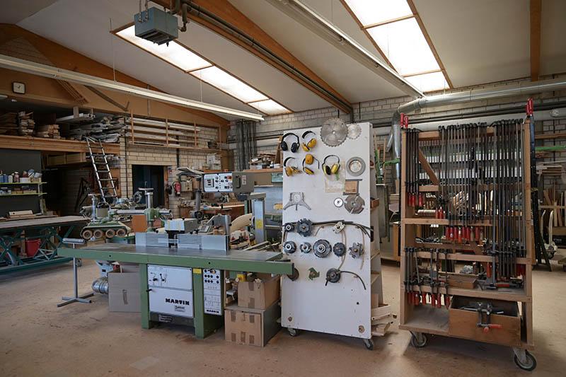 Tischlerei Faßbender Werkstatt