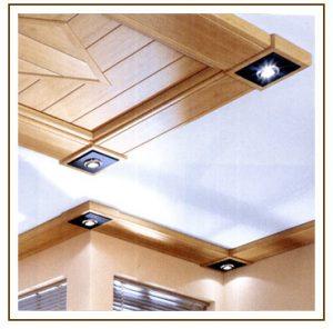 Holz & Licht schafft Atmosphäre