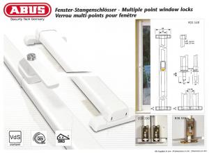 ABUS - Fenstergriffe und Stangenschlösser
